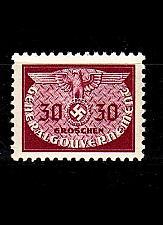 Buy GERMANY REICH GenGouv [Dienst] MiNr 0022 ( **/mnh )