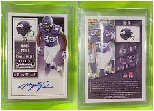 Buy NFL McCoy Pruitt Autographed 2015 panini Rookie Ticket Mint