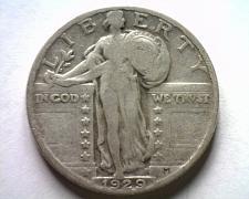 Buy 1929 STANDING LIBERTY QUARTER FINE / VERY FINE F/VF NICE ORIGINAL COIN BOBS COIN