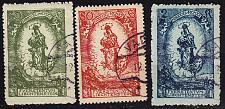 Buy LIECHTENSTEIN [1920] MiNr 0040-42 ( O/used )