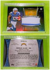 Buy NFL Keenan Allen San Diego Chargers 2013 Bowman Sterling 2 Color patch Rc SP/75