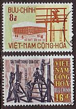 Buy VIETNAM SÜD SOUTH [1970] MiNr 0455-56 ( O/used )