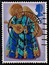 Buy Great Britain #681 Angel with Lute; Used (0.25) (2Stars) |GBR0681-04XRS