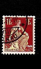Buy SCHWEIZ SWITZERLAND [1908] MiNr 0109 z ( O/used )