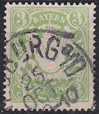 Buy GERMANY Bayern Bavaria [1888] MiNr 0054 B x ( O/used )