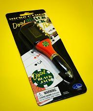 Buy NEW! Digital Black Jack Pen Micro Games Poker Games Casino Black Jack NIP - Red