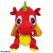 "Buy Caravan Softoys Red Dragon Plush Stuffed Animal 2014 14"""