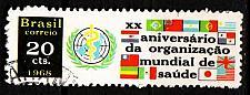 Buy BRASILIEN BRAZIL [1968] MiNr 1192 ( O/used ) UNO
