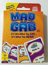 Buy Mad Gab Card Game 2012 Mattel