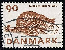 Buy Denmark #582 Cats; Used (0.50) (4Stars) |DEN0582-02XBC