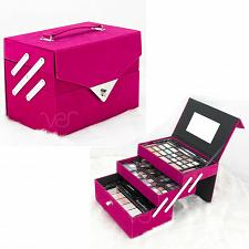Buy Teens Girls Starter Makeup Cosmetic Kit Pink Storage Case 72 Piece All In One