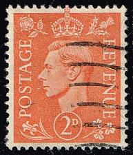 Buy Great Britain #238 King George VI; Used (0.50) (3Stars) |GBR0238-04XRS