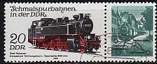 Buy GERMANY DDR [1980] MiNr 2562 WZd481 ( OO/used ) Eisenbahn