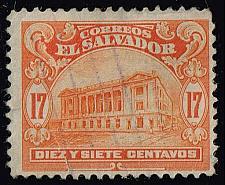 Buy El Salvador #437 National Theater; Used (0.25) (1Stars) |ELS0437-01XVA