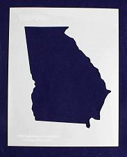 Buy State of Georgia Stencil 14 Mil Mylar - Painting /Crafts/ Templates