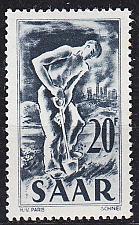 Buy GERMANY Saar [1949] MiNr 0283 ( **/mnh )