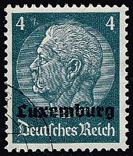 Buy Luxembourg #N2 Hindenburg - German Occupation; Used (4Stars) |LUXN02-01XRP