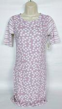 Buy Lularoe Womens Julia 1/2 Sleeve Bodycon Dress Size XS Polka Dot Purple White