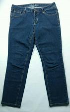 Buy Old Navy Women's Rockstar Jeans Cropped Size 12 Reg Dark Wash Stretch