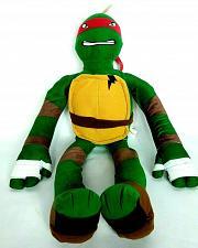 """Buy Teenage Mutant Ninja Turtles Raphael Plush Stuffed Animal Nickelodeon 2014 28.5"""""""