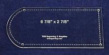 """Buy Potholder Template - Clear 1/8"""" Thick w/ Guidelines"""