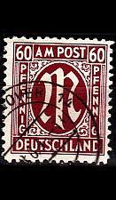 Buy GERMANY Alliiert AmBri [1945] MiNr 0033 b A ( O/used )