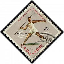 Buy Cape Verde #320 Javelin; Used (2Stars) |CPV0320-01XRS