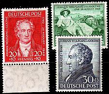 Buy GERMANY Alliiert AmBri [1949] MiNr 0108-10 ( **/mnh )