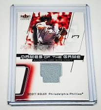 Buy MLB SCOTT ROLEN PHILADELPHIA PHILLIES 2003 FLEER GAME-WORN JERSEY MNT