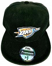 Buy Oklahoma City Thunder NBA Basketball Fitted Cap Hat Black Size 7.75 NWOT