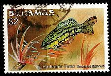 Buy BAHAMAS [1986] MiNr 0630 XI ( O/used ) Fische