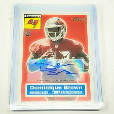 Buy NFL DOMINIQUE BROWN TAMPA BAY BUCCANEERS AUTOGRAPHED 2013 TOPPS HERITAGE RC MINT