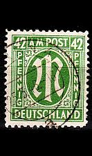 Buy GERMANY Alliiert AmBri [1945] MiNr 0031 B ( O/used )