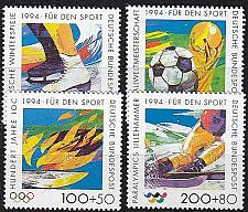 Buy GERMANY BUND [1994] MiNr 1717-20 ( **/mnh ) Olympiade
