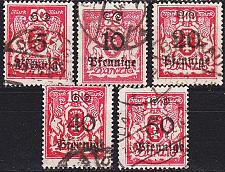 Buy GERMANY REICH Danzig [1923] MiNr 0181 ex ( OO/used ) [02]