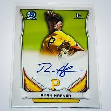 Buy MLB RYAN HEFFNER PITTSBURGH PIRATES AUTOGRAPHED 2014 BOWMAN CHROME FIRST RC MINT