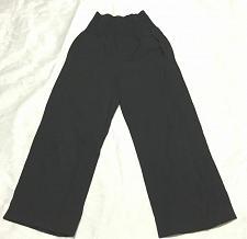 Buy scanlan & theodore women pants trouser Crop Size 8 wool blend Black