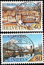 Buy SCHWEIZ SWITZERLAND [1977] MiNr 1094-95 ( O/used ) CEPT