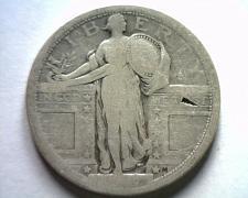 Buy 1917 TYPE 1 STANDING LIBERTY QUARTER ABOUT GOOD / GOOD AG/G NICE ORIGINAL COIN
