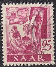 Buy GERMANY Saar [1947] MiNr 0216 ( O/used )