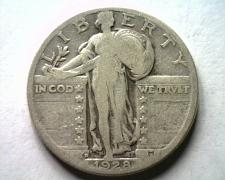 Buy 1928-D STANDING LIBERTY QUARTER VERY GOOD VG NICE ORIGINAL COIN FROM BOBS COINS