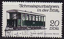 Buy GERMANY DDR [1981] MiNr 2632 ( OO/used ) Eisenbahn