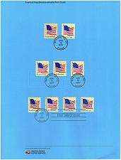 Buy US #SP1636 (4129-4135) Flags Souvenir Page (4Stars) |USASP1636-01
