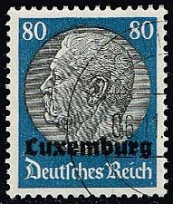 Buy Luxembourg #N15 Hindenburg - German Occupation; Used (5Stars) |LUXN15-01XRP