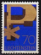 Buy LIECHTENSTEIN [1967] MiNr 0484 ( O/used ) Religion