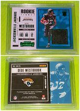 Buy NFL Dede Westbrook Jacksonville Jaguars 2017 Panini Game Worn Rookie Jersey Mnt