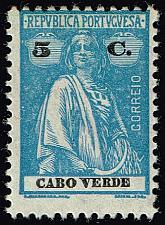 Buy Cape Verde #183 Ceres; Unused (2Stars) |CPV0183-06XRS