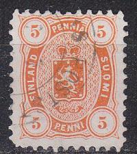 Buy FINLAND SOUMI [1875] MiNr 0013 A y b ( O/used )