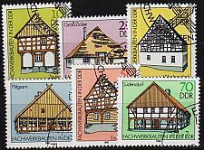 Buy GERMANY DDR [1981] MiNr 2623-28 ( O/used ) Bauwerke