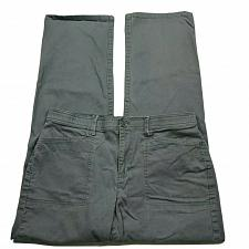 Buy Gloria Vanderbilt Womens Mona Straight Leg Pants Size 12 Gray High Rise